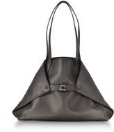 Akris Mocca Brown Cervocalf Ai Small Shoulder Bag