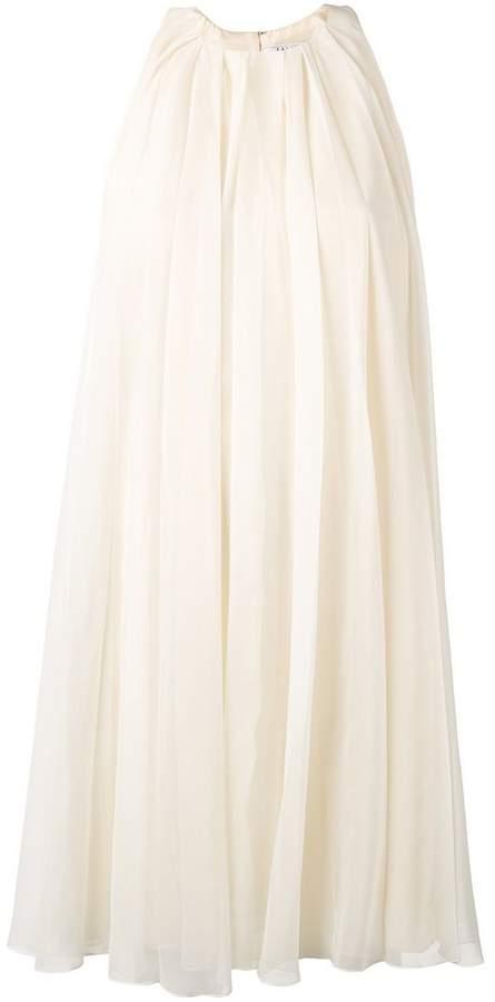 Lanvin pleated mini dress
