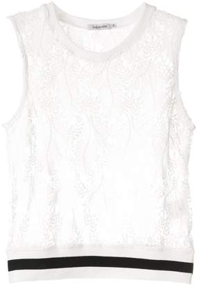 GUILD PRIME sleeveless lace top
