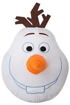 Disney Frozen Childrens/Kids Olaf Shaped 3D Pillow/Cushion (One Size) (White)