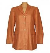 Loro Piana Orange Cashmere Jacket for Women Vintage