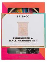 Brit + Co® Embroider a Wall Hanging Kit