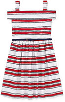Knitworks Knit Works Sleeveless Stripe A-Line Dress - Big Kid Girls