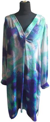 Cathy Pill Multicolour Silk Dresses