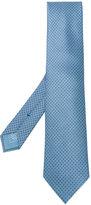 Brioni micro dotted pattern tie - men - Silk - One Size