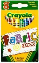 Crayola Fabric Crayons, Bright Colors, 8 Ct - 1 Pkg