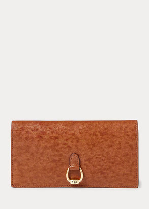 Ralph Lauren Saffiano Slim Leather Wallet