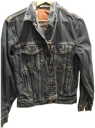 Levi's Blue Cotton Jackets