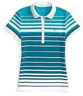 Tommy Hilfiger Women's Heritage Fit Multi Stripe Polo