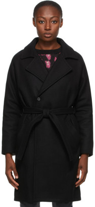 A.P.C. Black Bakerstreet Coat