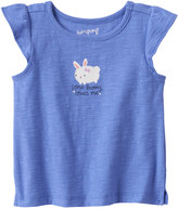 "Jumping Beans Baby Girl Jumping Beans® ""Some Bunny Loves Me"" Slubbed Tee"