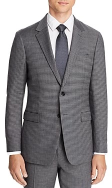 Theory Chambers Micro-Check Slim Fit Suit Jacket