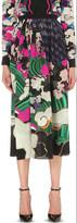 Mary Katrantzou Jewel Cloud silk skirt