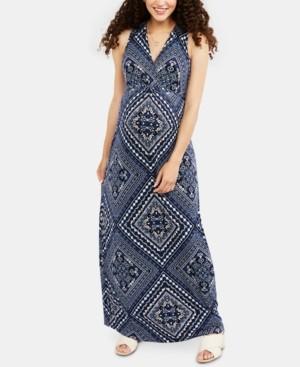 Motherhood Maternity Printed Maxi Dress