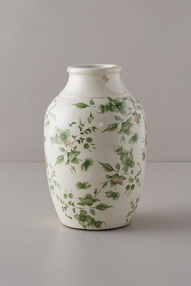 Anthropologie Green Chinoiserie Jar Vase By in Assorted Size ALL