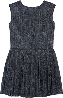Pippa & Julie Shimmer Drop Waist Dress