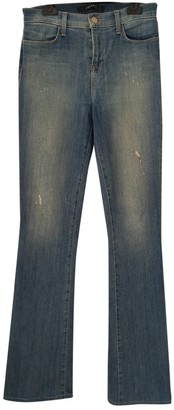 J Brand Blue Cotton - elasthane Jeans for Women