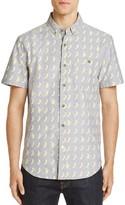 Sovereign Code Banana Print Regular Fit Button-Down Shirt