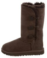 UGG Girls' Suede Bailey Button Boots