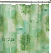 Bacova Guild Bacova Spa Trees Shower Curtain