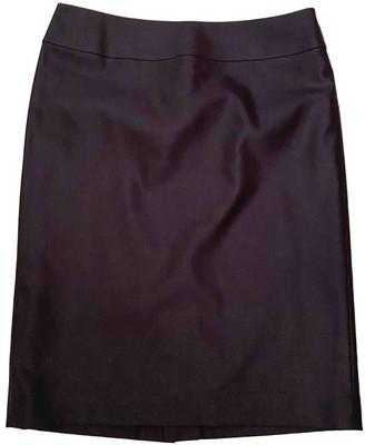 ICB Navy Silk Skirt for Women