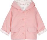 Petit Bateau Floral print cotton jacket 1-12 months