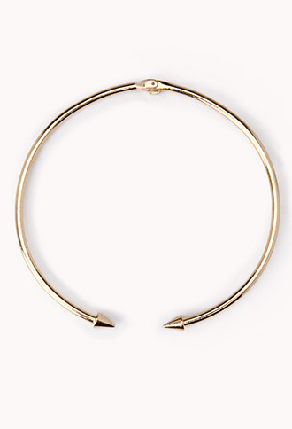 Forever 21 Edgy Spiked Choker