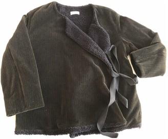 Masscob Blue Cotton Jacket for Women