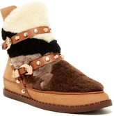Ivy Kirzhner Antarctic Genuine Shearling Patchwork Boot