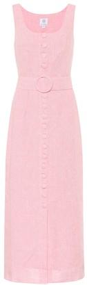 Gül Hürgel Linen maxi dress