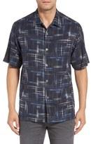 Tommy Bahama 'Coastal Fade' Original Fit Silk Camp Shirt