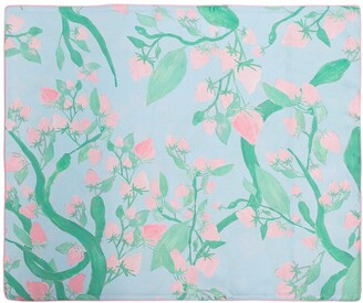 Helmstedt Multicoloured Strawberry print silk pillow case