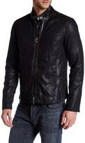 Star USA By John Varvatos Linen Moto Jacket