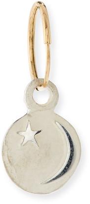 Lee Brevard Star & Crescent Single Earring