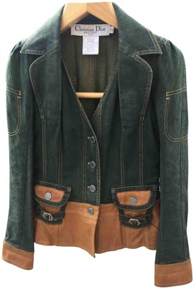 Christian Dior Camel Denim - Jeans Jacket for Women Vintage
