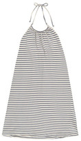 Babe & Tess Sale - Striped Bare Back Dress