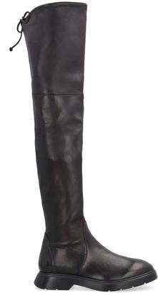 Stuart Weitzman Kristina Stretching Leather Boots