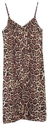 Equipment Jules Leopard Slip Dress