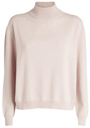 Brunello Cucinelli Cashmere Funnel-Neck Sweater