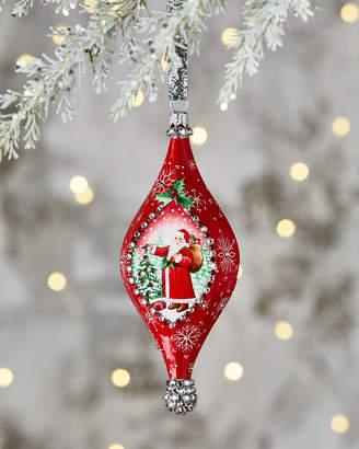 Patricia Breen Santa Pendant Ornament