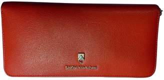 Michael Kors Red Leather Wallets