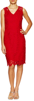 T Tahari Kimber Lace Knee Length Dress