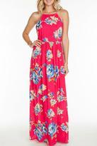 Everly Fuchsia Maxi Dress