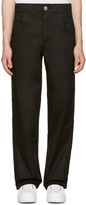 Telfar Black Straight-leg Trousers