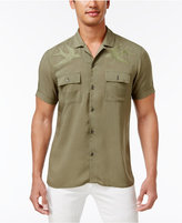 INC International Concepts Men's Embroidered Bird Shirt, Only at Macy's