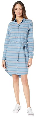 Carve Designs Aida Dress (Lake Stripe) Women's Dress