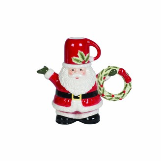 Fitz & Floyd Kids Santa Cocoa Pot with Cup 2-Piece