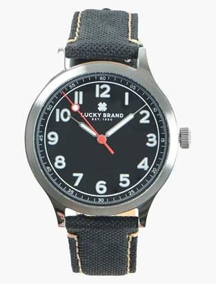Lucky Brand Jefferson Black Fabric Watch