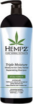 Hempz Triple Moisture Herbal Replenishing Shampoo - 33 oz.