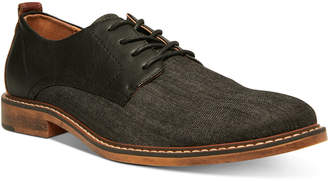 Steve Madden Men Yeller Mixed-Media Casual Oxfords Men Shoes